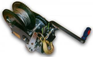 Лебедка ручная барабанная (катушка) (тросовая) с ручным тормозом 1454кг JUN KAUNG SKRAB 26458