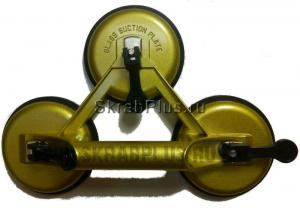 Стеклодомкрат тройной металлический корпус SKRAB 27063