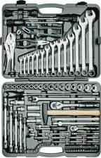 Набор инструментов 116 предметов для авто в чемодане (кейсе) SKRAB 60116
