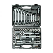 """Набор инструментов 39 предметов 1/2"""" для авто в чемодане (кейсе) SKRAB 60039"""
