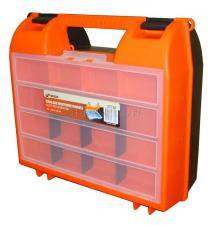 """Ящик для дрели 14"""" (360*323*145 мм) с двумя пластиковыми замками MJ-2056 SKRAB 27730"""