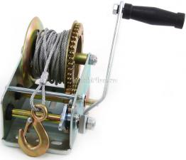Лебедка ручная барабанная (катушка) (тросовая) 810кг SKRAB 26455 купить оптом и в розницу в СПб