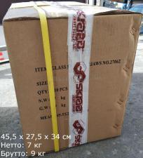 Упаковка (коробка) 10 шт двойных стеклодомкратов с алюминиевым корпусом SKRAB 27062 купить оптом и в розницу в СПб