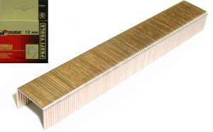 Скобы для степлера 12 мм омедненные оцинкованные (1000 шт) Тип 53 SKRAB 35234