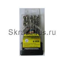 Набор сверл по металлу 13 шт. 1,5 - 6,5 мм ц/х HSS Р6М5 SKRAB 30120 DIN 338 (ГОСТ 10902-77) купить на официальном сайте в СПб