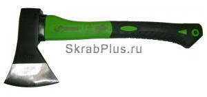Топор плотницкий 600 г с фиберглассовой зелено/черной ручкой SKRAB 20141 купить оптом в СПб