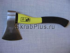 Топор плотницкий 1000 г с фиберглассовой желто/черной ручкой SKRAB 20123 купить на официальном сайте