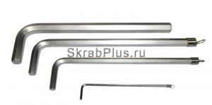 Ключ шестигранный 3 мм SKRAB 44752 купить на официальном сайте