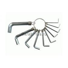 Набор ключей шестигранных 10 шт. 1,5-8 мм MGH 44701 купить купить на официальном сайте в Санкт-Петербурге