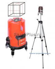 Уровень строительный лазерный K35 5-ти лучевой SKRAB 40559 купить оптом в СПб