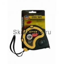 Рулетка 3мх16мм измерительная 3 стопа, нейлон, магнит SKRAB 40132 купить оптом в СПб