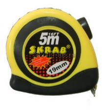 Рулетка 5мх25мм измерительная нейлон, магнит SKRAB 40154 купить оптом в СПб