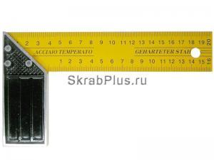 Угольник столярный 350 мм SKRAB 40302 купить оптом в СПб