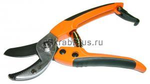 Секатор - сучкорез мини садовый 180 мм контактный SK5 Тефлон SKRAB 28192 купить оптом в СПб