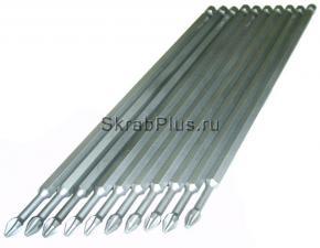 Биты PH2 x 150 мм торсионные магнитные 10шт S2 SKRAB 43525 купить оптом в СПб