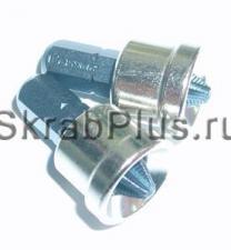 Биты с ограничителем PH 2 х 25 мм антислип магнитные 2 шт S2 SKRAB 43694 купить оптом в СПб