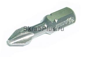 Биты PH 2 x 25 мм торсионные магнитные 30шт S2 SKRAB 43900 купить оптом в СПб