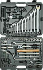Набор инструментов 90 предметов для авто в чемодане (кейсе) SKRAB 60090 купить на официальном сайте
