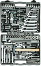 Набор профессиональных инструментов высокого качества 77 предметов для авто в чемодане (кейсе) SKRAB 60077 купить оптом и в розницу в СПб
