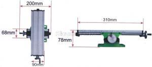 Размеры стола двухкоординатного для станков 310*90 мм SKRAB 25500 новая версия