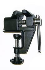 Тиски слесарные мини 40 мм настольные со струбциной Al SKRAB 25300