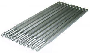 Биты T25x150 Security TORX 10шт с отверстием торсионные магнитные  SKRAB 43533