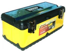 Ящик для инструментов 20 (510*260*220 мм)  с металлическими замками  SKRAB 27551