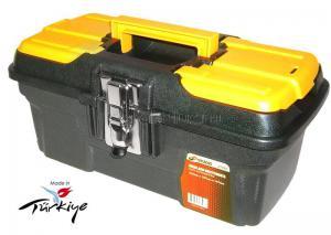 """Ящик для инструментов 13"""" (334*187*147 мм) морозостойкий с металлическими замками MG-13 SKRAB 27593"""