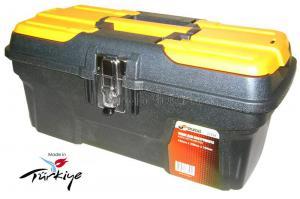 Ящик для инструментов 17 (434*239*194 мм) морозостойкий с металлическими замками MG-16 SKRAB 27594