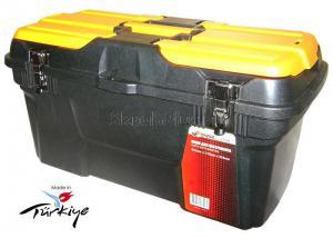 Ящик для инструментов 22 (582*310*234 мм) морозостойкий с металлическими замками MG-22 SKRAB 27596