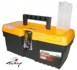 """Ящик для инструментов 13"""" (320*155*139 мм) морозостойкий с металлическим замком MT-13 SKRAB 27583"""