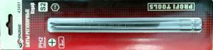 Оригинальное фото блистера с битами PH2x200мм магнитные 2 шт. SKRAB 43491