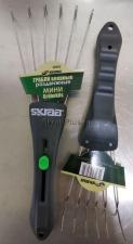 Грабли веерные мини раздвижные 6 зубьев из нержавеющей стали SKRAB 28065 оригинальное фото