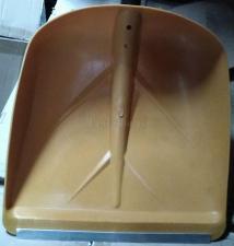 Пластиковый ковш (совок) с металлическим кантом (пластиной) лопаты снеговой SKRAB 28092