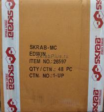 """оригинальное фото коробки стяжных ремней 2,5 м * 1"""" с фиксаторами, 2 шт SKRAB 26597"""