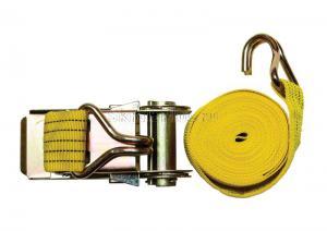 Ремень стяжной 4,5 м * 2, 900 кг с храповиком и крюками SKRAB 26488