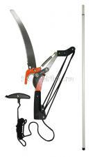 Сучкорез телескопический 1,5  - 3 м с ножовкой веревочный механизм SK5 SKRAB 28184